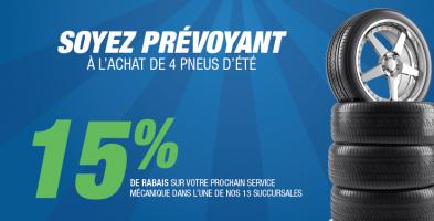 15% services mécaniques