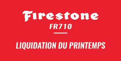 Firestone – Liquidation du printemps