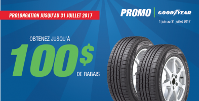 Prolongation – Remise postale Goodyear